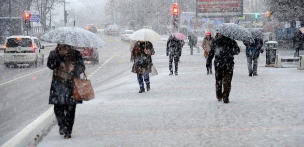 Meteoroloji'den o bölgeler için kar uyarısı