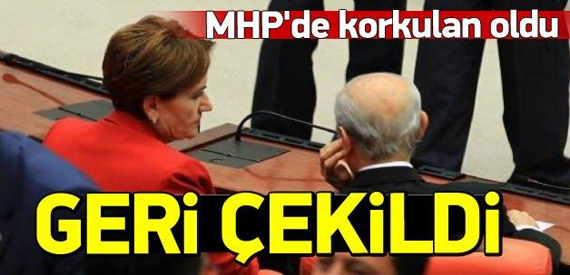 MHP'de 62 imza geri çekildi
