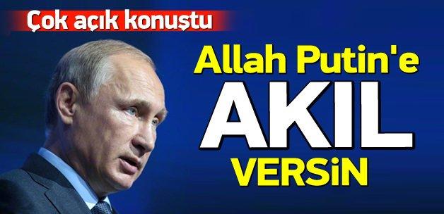 Nobelli Türk: Allah Putin'e akıl versin