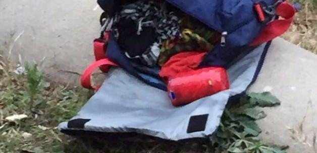 O PKK'lının sırt çantasından çıkanlar şoke etti