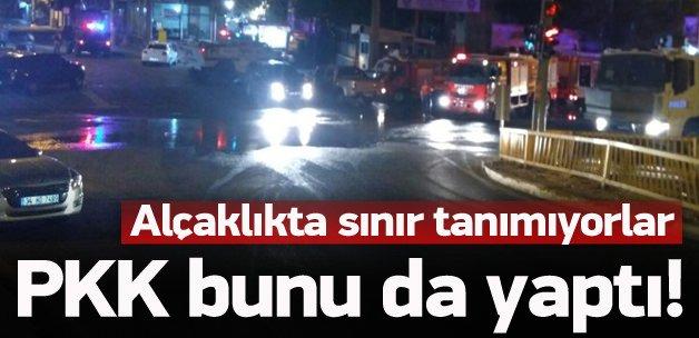 PKK alçaklıkta sınır tanımıyor! Bunu da yaptılar