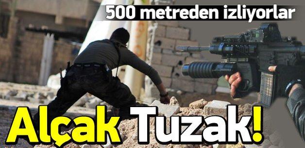 PKK'lı teröristlerden kameralı tuzak