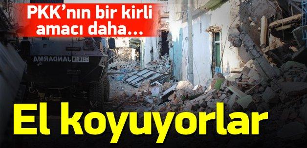 PKK'lı teröristlerin bir kirli amacı daha...