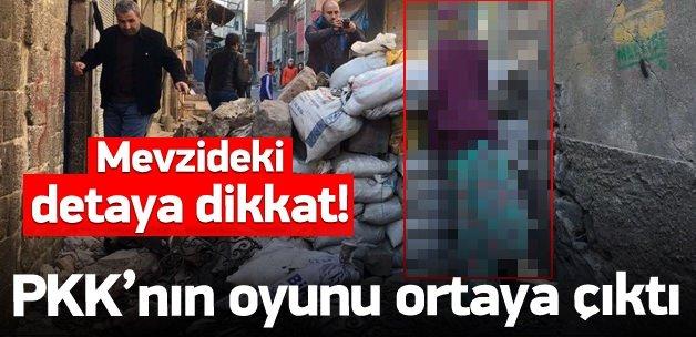 PKK'lı teröristlerin oyunu ortaya çıktı!