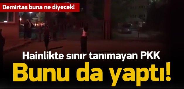 PKK'lılar öğrenci yurdunu böyle ateşe verdi