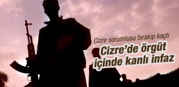 PKK'nın Cizre sorumlusu silah bırakıp kaçtı!