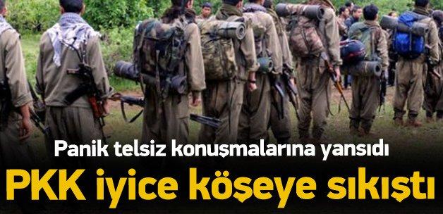 PKK'nın paniği telsiz konuşmalarına yansıdı