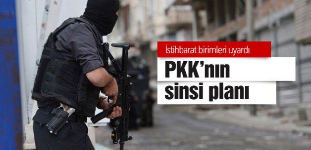 PKK'nın sinsi planı istihbarat deşifre etti