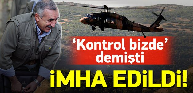 PKK'ya ağır darbe: Sığınaklar imha edildi