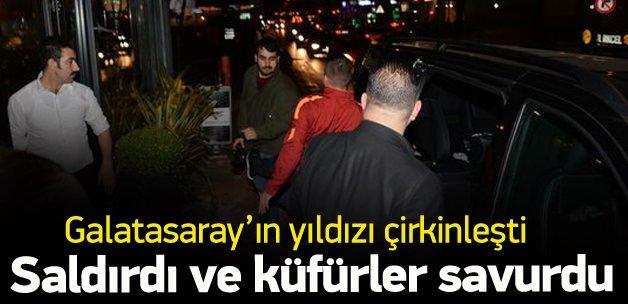 Podolski gazetecilere saldırıp, Türkçe küfür etti