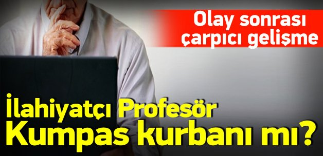 Prof. Dr. Sarıoğlu kumpas kurbanı mı?