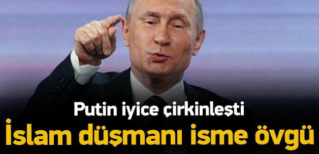 Putin'den Donald Trump'a büyük övgü