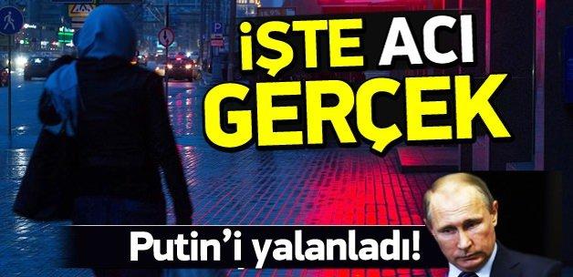 Putin'i yalanlayan tablo!