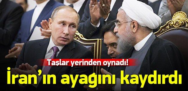 Putin İran'ın ayağını kaydırdı!