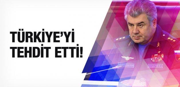 Rus komutandan Türkiye'ye tehdit!