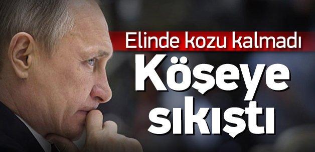 Rus lider Putin köşeye sıkıştı