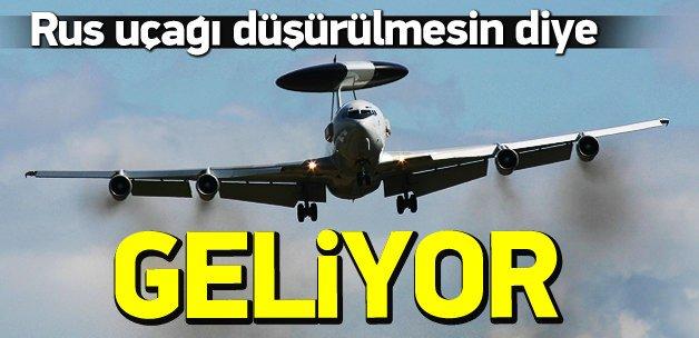 Rus uçağı düşürülmesin diye Türkiye'ye geliyorlar
