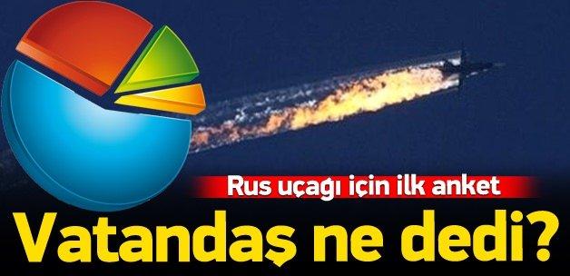 Rus uçağının düşürülmesine büyük destek!