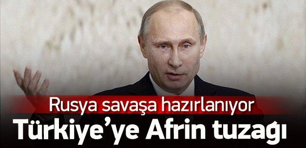 Rusya Afrin'e asker indiriyor