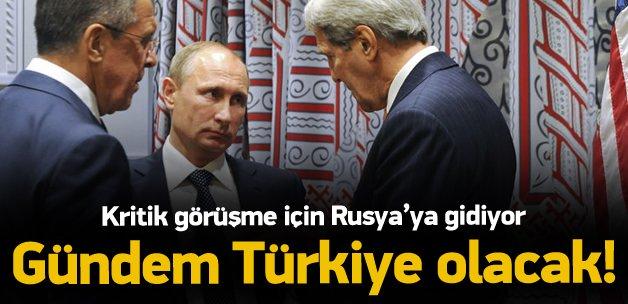 Rusya'da kritik Türkiye görüşmesi