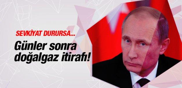 Rusya'dan günler sonra doğalgaz itirafı! Sevkiyat durursa...