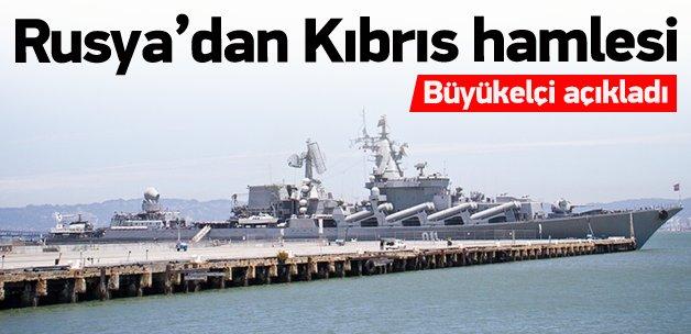 Rusya'dan Kıbrıs hamlesi