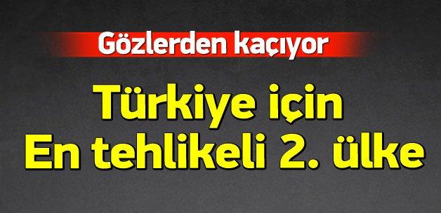 Rusya'dan sonra Türkiye için en tehlikeli ülke