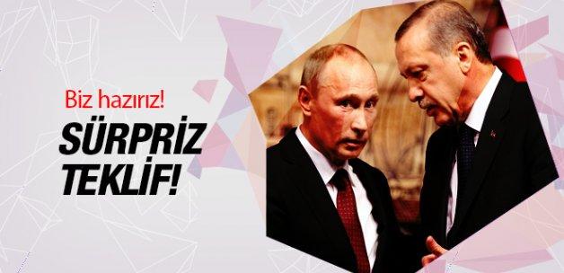 Rusya'dan Türkiye'ye sürpriz teklif! Hazırız