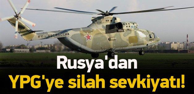 Rusya'dan YPG'ye silah sevkiyatı!