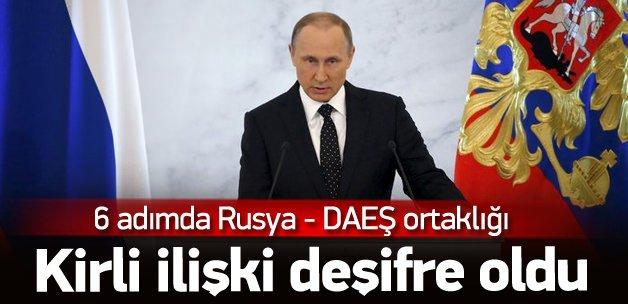 Rusya'nın DAEŞ'le petrol ortaklığı kanıtlandı