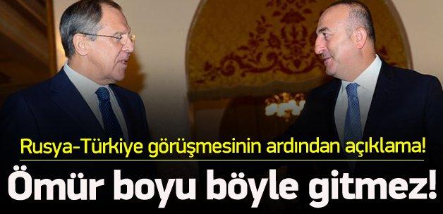 Rusya-Türkiye görüşmesi sonrası açıklama