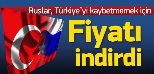 Rusya, Türkiye'yi kaybetmemek için fiyat indirdi
