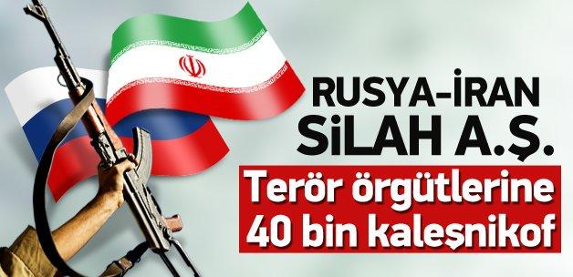 Rusya ve İran'dan Şii örgütlere 40 bin keleş