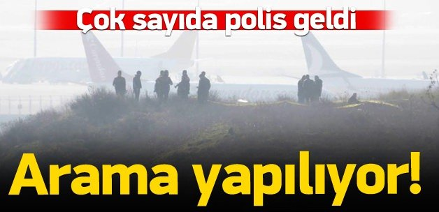 Sabiha Gökçen'de polis araması!