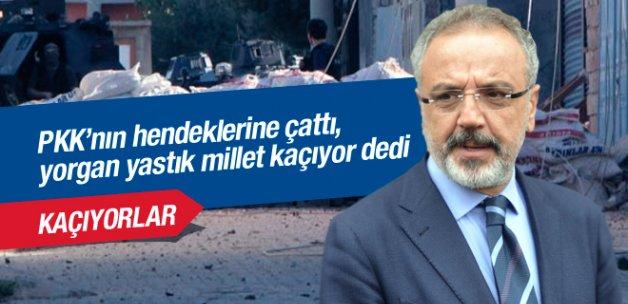Sakık'tan hendek ve abluka eleştirisi