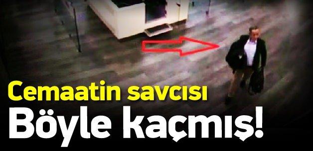 Savcı Seçen'in yurtdışına çıkış görüntüleri!