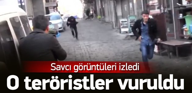 Savcılık: Sokağa giren iki terörist de vuruldu
