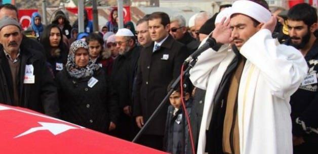 Şehit Jandarma Astsubay Sıddık Uluocak defnedildi