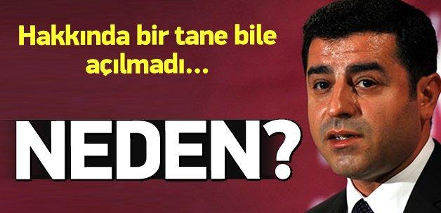 Selahattin Demirtaş'a neden soruşturma açılmıyor?