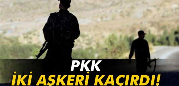 Şırnak'ta 2 uzman çavuştan haber alınamıyor