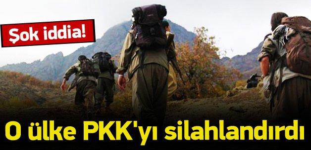 Şok iddia! O ülke PKK'yı silahlandırdı