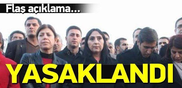 Sur'da basın toplantısı ve yürüyüş yasaklandı
