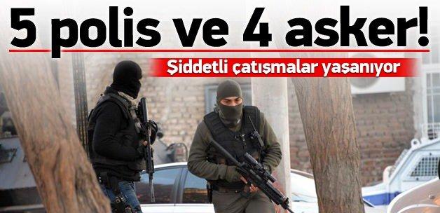 Sur'da şiddetli çatışma: 9 yaralı