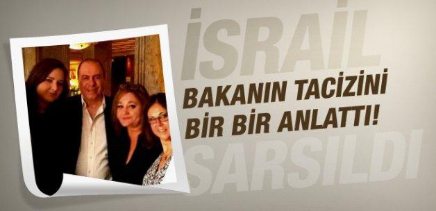 Taciz iddiaları İsrailli bakanı istifa ettirdi