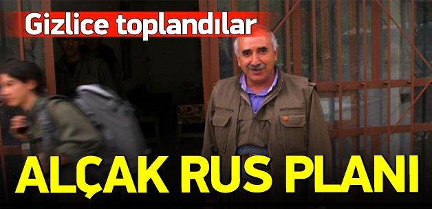 Terör örgütü PKK'nın alçak Rus planı!