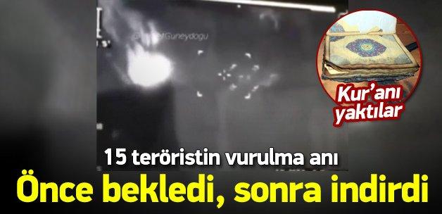 TERÖRİSTLER KUR'AN-I KERİM'İ YAKTILAR