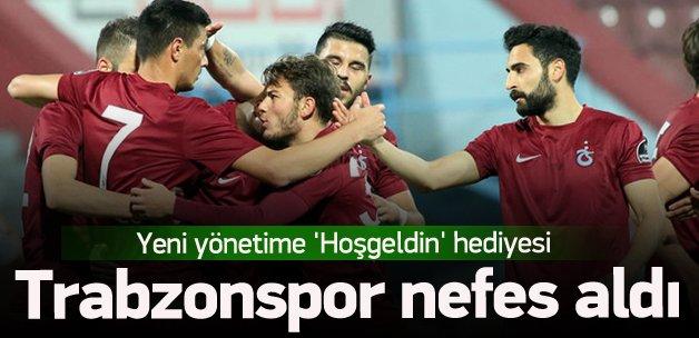 Trabzonspor'dan 'Hoşgeldin' hediyesi