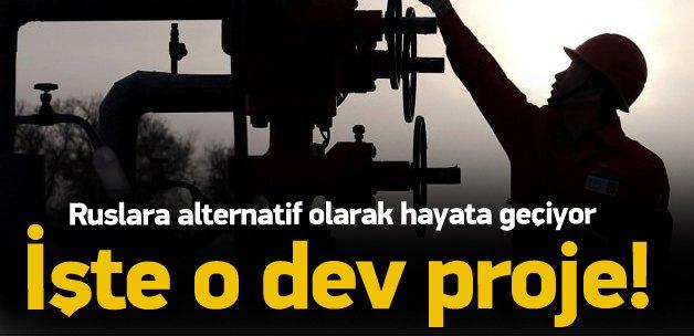 Türk Akımı bitti! İşte alternatif dev proje