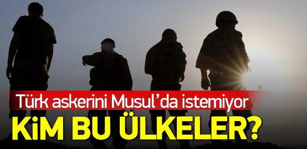 Türk askerini Musul'da istemeyen güç kim?
