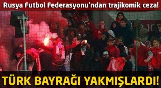 Türk bayrağı yakan Rusların cezası belli oldu!